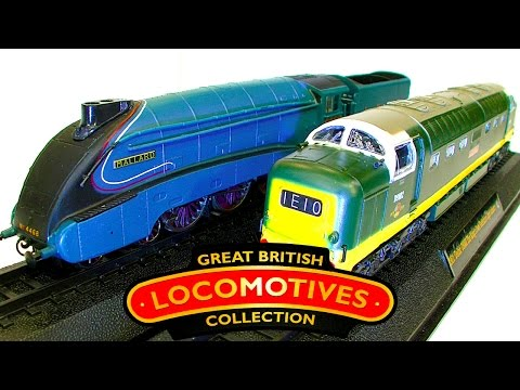 Top 10 Great British Locomotive Collection Rivet Counting Cheap Trains
