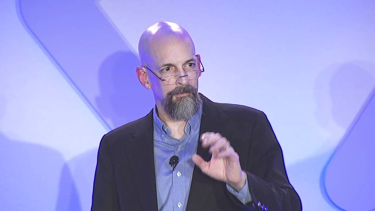 Solve for X: Neal Stephenson on getting big stuff done - YouTube