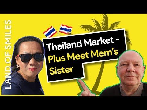 Food Market Thailand + (Mem's Sister)
