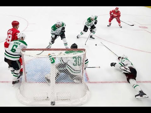 Dallas Stars vs Detroit Red Wings - January 16, 2018 | Game Highlights | NHL 2017/18