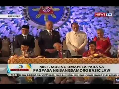 BT: MILF, muling umapela para sa pagpasa ng Bangsamoro Basic Law
