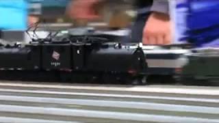 2017年3月 アメリカ・ミルウォーキー鉄道のHOゲージ鉄道模型車両 第20回 鉄道模型走行会 カワサキワールド 巨大ジオラマ Event of the railway model