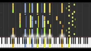 Star Wars: The Asteroid Field (Piano Tutorial on Synthesia) by John Williams