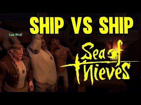 SHIP vs SHIP - SEA OF THIEVES GAMEPLAY - TEAM UNITY #1