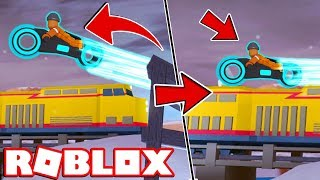 VOLT BIKE vs TRAIN!! | Roblox Jailbreak Update