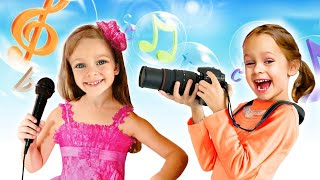 Детская песня о профессиях | Песни для детей от Майи и Маши