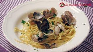 Spaghetti Con Almejas (spaghetti Alle Vongole) ~ La Receta Original Italiana, Paso A Paso