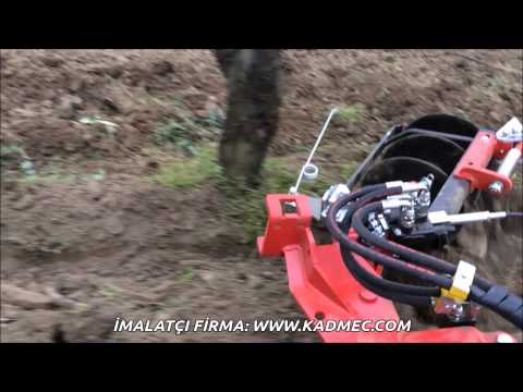 Otomatik Çapalama Makinasi Meyve Ağaçlari