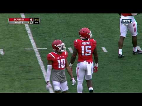 Big Catch by Charles Snorweah - Rutgers Spring Football