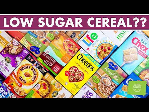17 Low Sugar Cereal Options | BEST Healthy Cereal Brands!