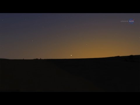 ScienceCasts: A Spectacular Conjunction of Venus and Jupiter