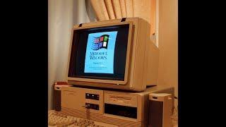 Windows 3.1 on 80286 with 1bm ram + SVGA