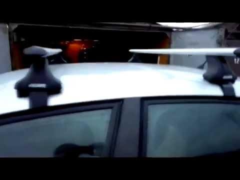 Багажник на крышу Ситроен C4 Седан