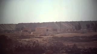 قناة السويس الجديدة: مشهد من السيارة لمواقع الحفر بالقطاع الجنوبي