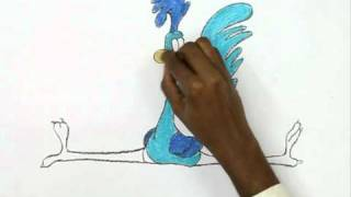 How to Draw Road Runner