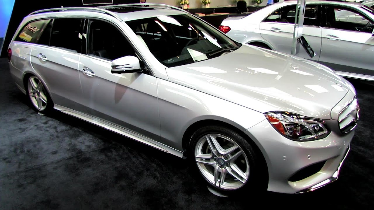 medium resolution of 2014 mercedes benz e class e350 4matic wagon exterior interior walkaround 2014 montreal auto show
