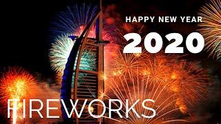 Dubai New Year 2020 Fireworks | New Year Celebrations 2020