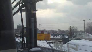 HD MBTA Blue Line ride from Wonderland to Orient Heights