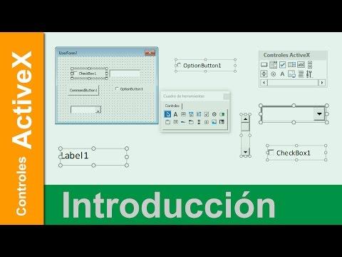 Controles ActiveX | Características Principales | Introducción