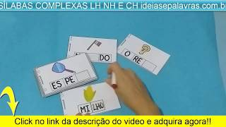 Sílabas Complexas Lh Nh Ch   Atividades De Alfabetização E Letramento   Www.ideiasepalavras.com.br