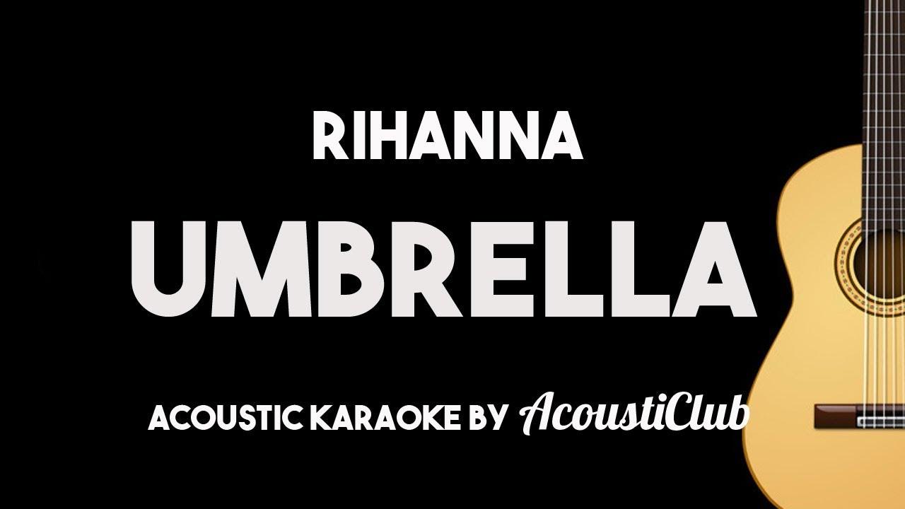 Rihanna umbrella guitar chords