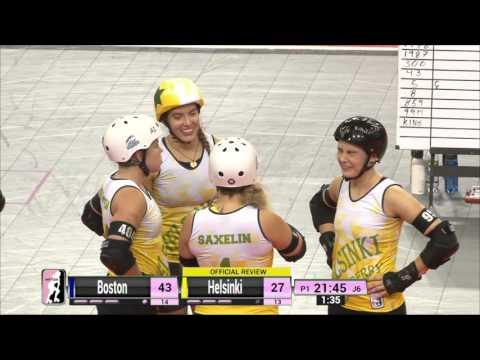 Game 10: Helsinki Roller Derby V Boston Derby Dames