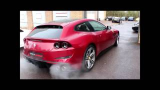 Brand New Ferrari GTC-4 Lusso start up and driving!!