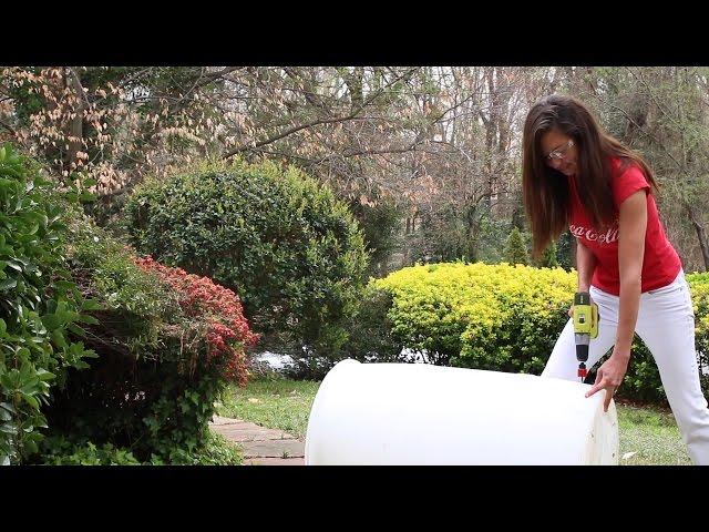 From Coca-Cola Syrup Drums to Rain Barrels
