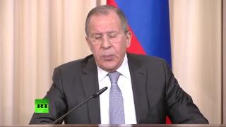 Пресс-конференция Сергея Лаврова и Федерики Могерини