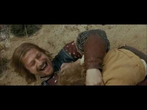 Fellowship Of The Ring ~ Extended Edition ~ Aragorn and Boromir train Merry & Pippin HD