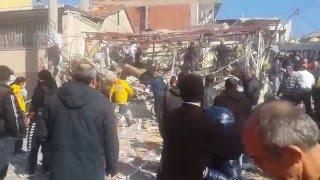 Buca ufuk mahallesinde patlama 24 ocak 2016