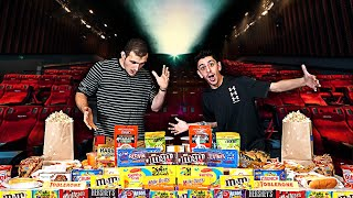 Download Eating the ENTIRE Movie Theater MENU!! **25,000 CALORIES** Mp3 and Videos