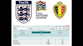 Англия Бельгия прогноз 11 октября 3 тур Лиги наций