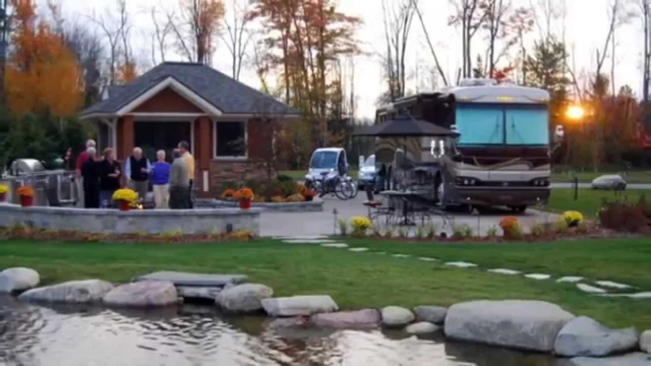 Hearthside Grove Luxury Rv Resort Youtube