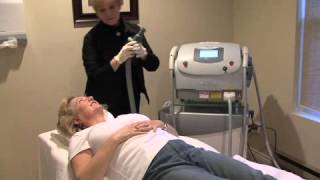 Video 11:  Heather Maxwell's microdermabrasion and photofacial with estheticians Yvonne and Amberly