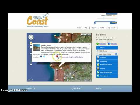 North Devon - Using the ExploretheCoast trip planner