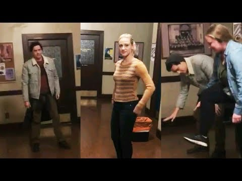 Lili Reinhart with Cole Sprouse | Instagram Story Videos | January 30 2018 | Riverdale