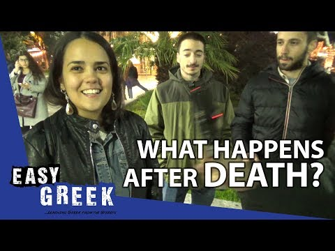 What happens after death? | Easy Greek 15