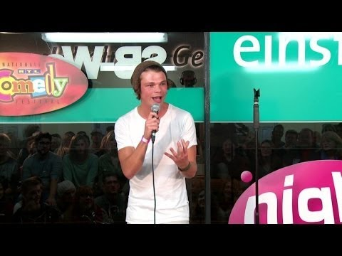 Sebastian Herbst Ist Solo In Xanten Nightwash Talent Award 2014