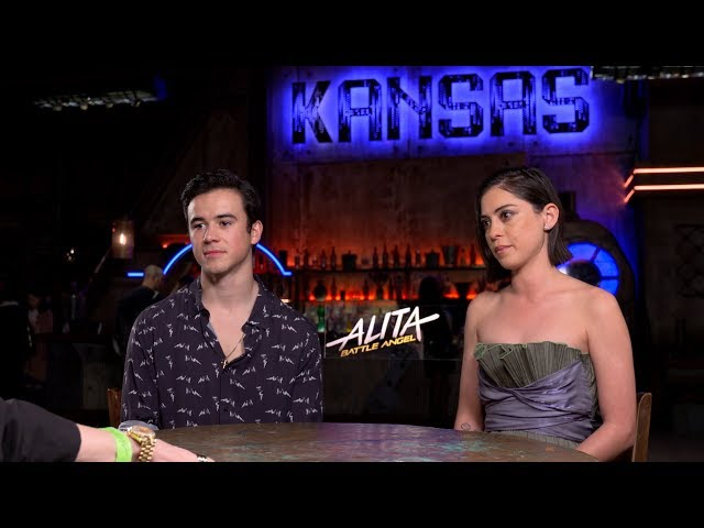 Dana Cortez Show interviews cast of ALITA: Battle Angel