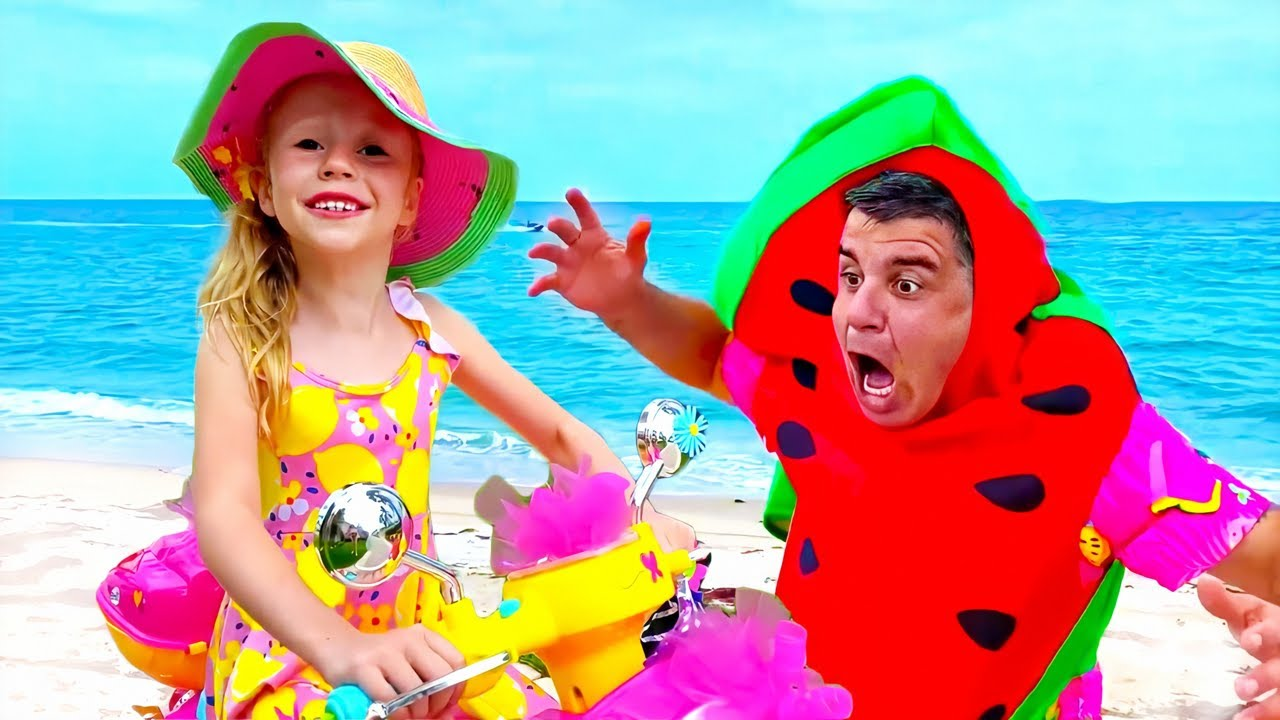 Nastya y la historia sobre helado y limonada
