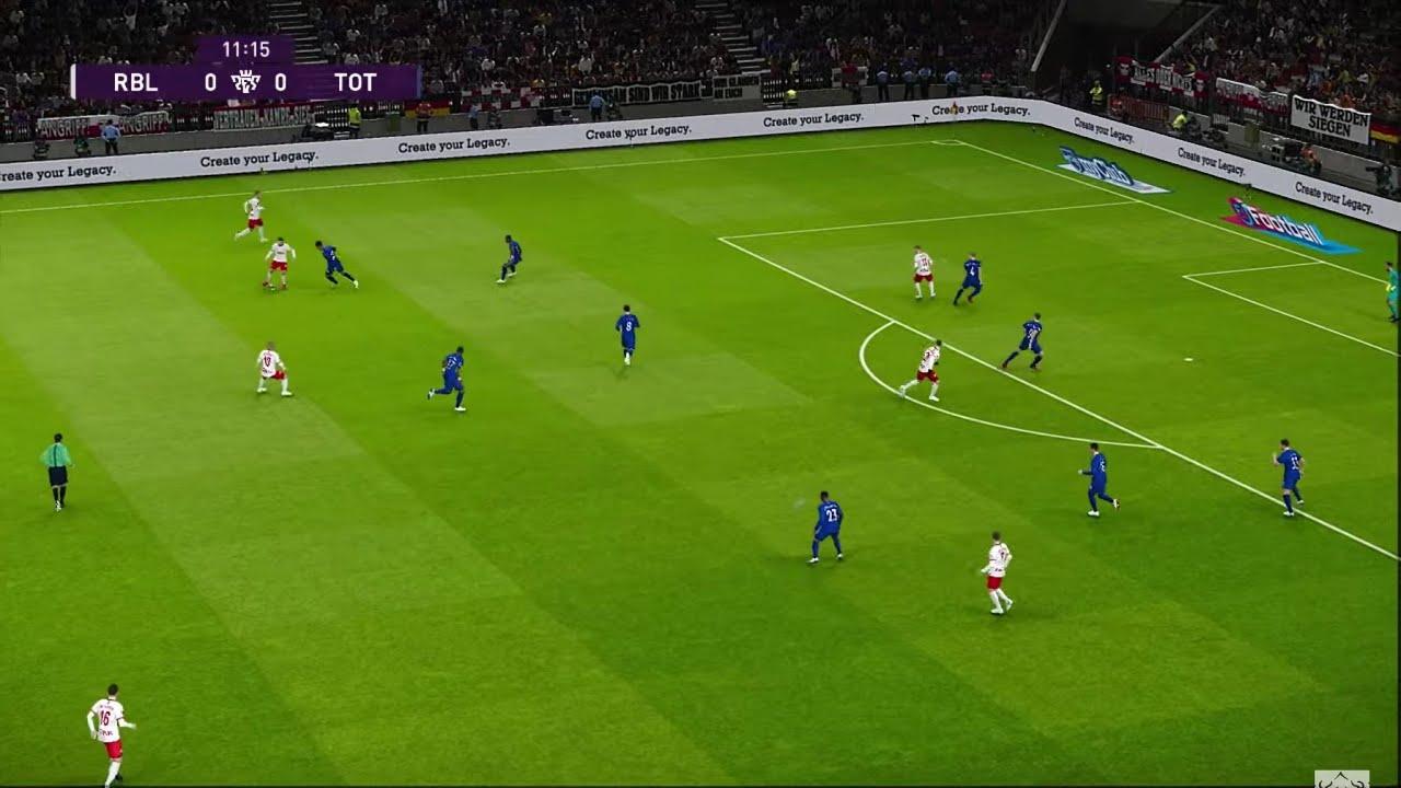 RB Leipzig vs Tottenham   Champions League UEFA   10 Mars 2020   PES 2020