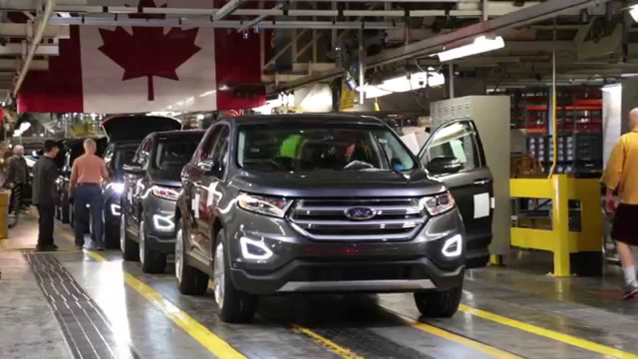 2015 Ford Edge Production At Oakville Assembly YouTube