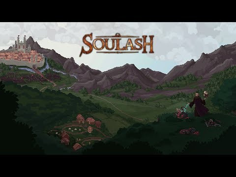 Soulash Gameplay - Old School Open World Crafting Roguelike RPG!