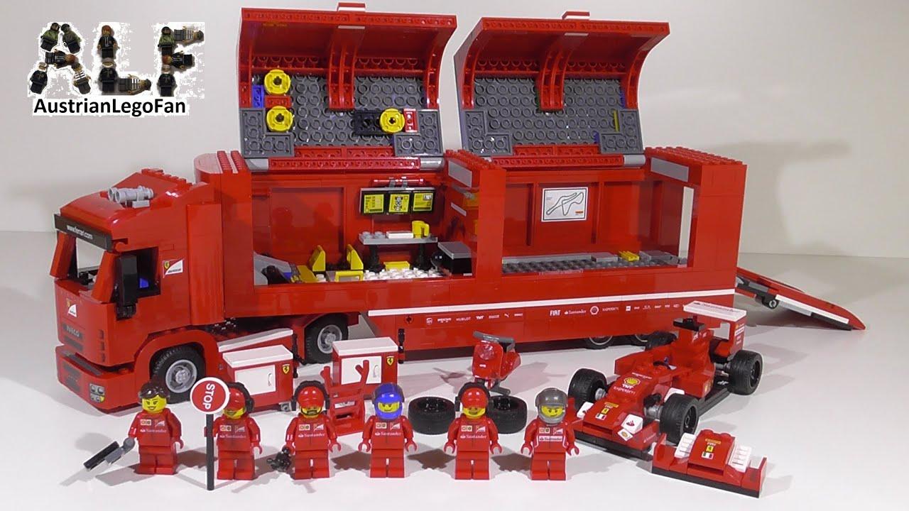 Lego Speed Champions 75913 F14 T Amp Scuderia Ferrari Truck