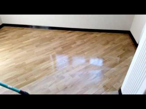 Ламинат беленый дуб - YouTube