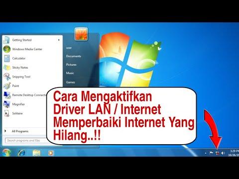 Dalam video ini saya akan menjelaskan bagaimana cara untuk mengembalikan driver network adapter yg h.