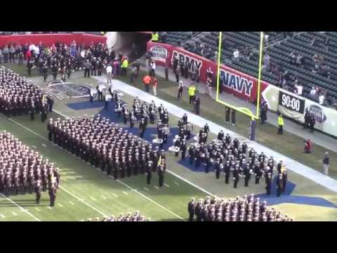 Brigade Of Midshipmen March On At 2015 Army Navy Game
