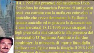 PRAGA CAVALIERE GAETANO CASSANO IONIO PERRONE SALVATORE MAGISTRATI COINVOLTI IN OMICIDI  wmv
