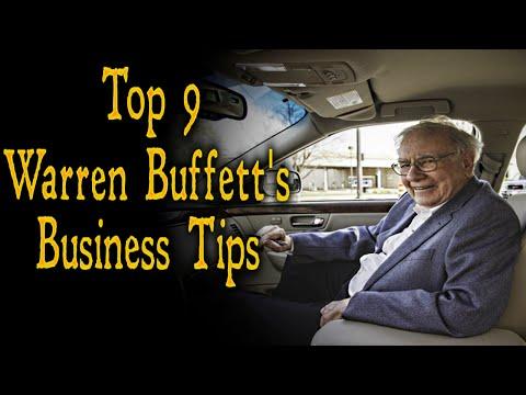 Top 9 Warren Buffett's Business Tips